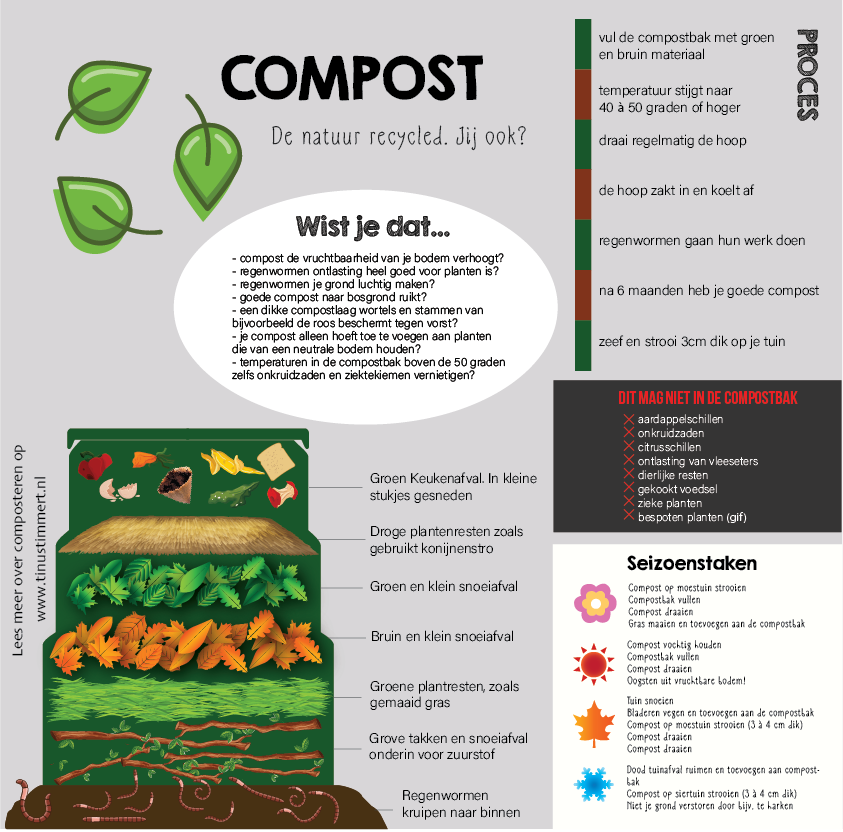 Infographic compost