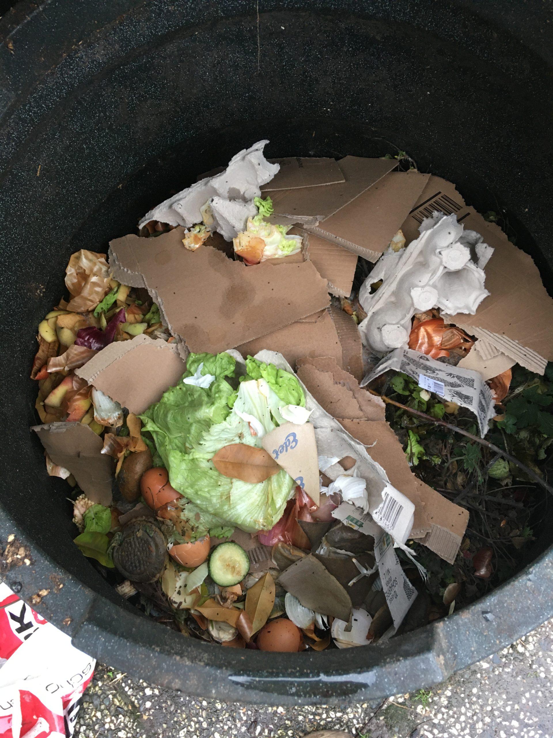 organisch afval compostbak