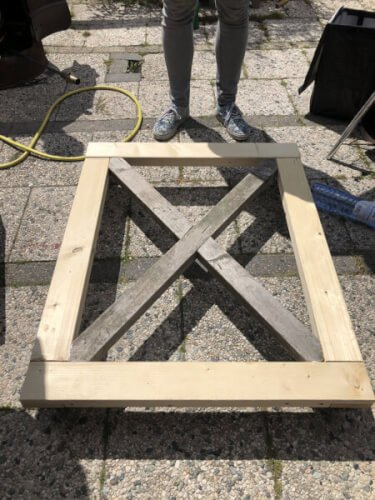 onderkant frame bar