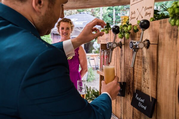 speciaalbier bar bruiloft