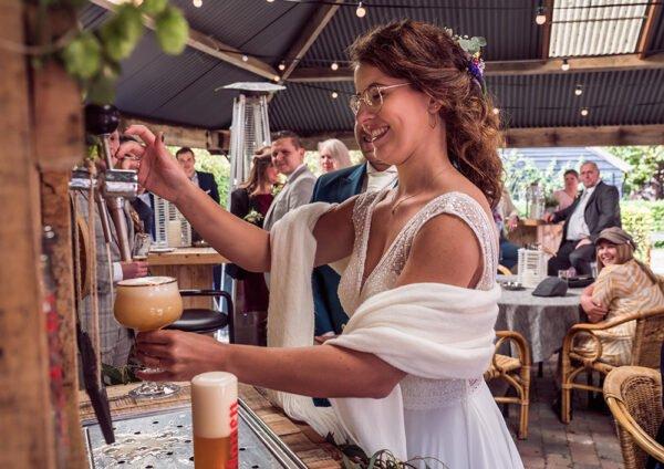trouwbar, bruid