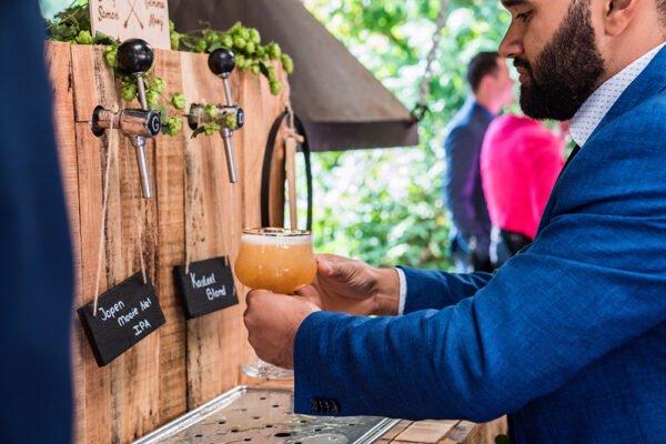 trouwen, bar, bierbar, speciaalbier, tap