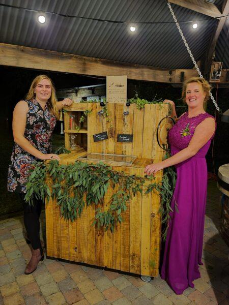 bierbar, trouwbar, diy houten bar